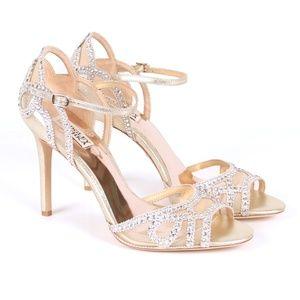 "NWT Badgley Mischka ""Tansy"" dress sandal size 10"